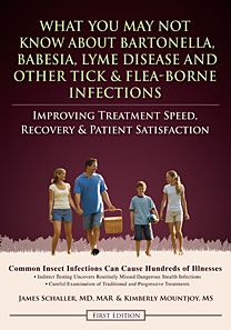A New Advanced Lyme Disease,  Babesia and Bartonella Book — Free to download.  Pin now, read later.