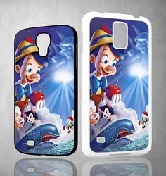Walt Disney Pinocchio Y0613 Samsung Galaxy S3 S4 S5 (Mini) S6 S6 Edge,Note 2 3 4, HTC One S X M7 M8 M9 Cases