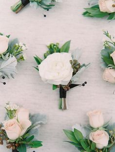 Featured Photographer: Esther Sun Photography; wedding boutonniere idea