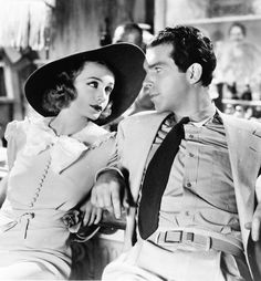 Carole Lombard & Fred MacMurray in Swing High, Swing Low (1937)