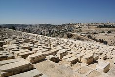 """The southern part of the Mount of Olives which was the necropolis of the ancient Judean kingdom. It has been used as a Jewish cemetery for over 3,000 years (oldest cemetary in the world) and holds approximately 150,000 graves.The tomb of Absalom and prophets Zechariah, Malachi and Haggai are here. Many Jews have wanted to be buried on the Mount of Olives """"since antiquity,"""" based on the Jewish tradition (Zechariah 14:4) that when the Messiah comes, the resurrection of the dead will begin…"""