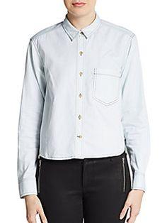 THEORY Legano Travel Damilo Shirt. #theory #cloth #shirt