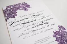 DIY Printable Wedding Invitation - Mehndi
