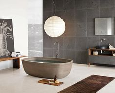 Inkstone Bathtub by Neutra