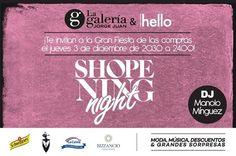 Participamos en la #ShopeningNightValencia con un stand en #GaleriaJorgeJuan de la mano de #HelloValencia