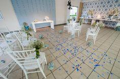 casamento em um salão de festa de um prédio