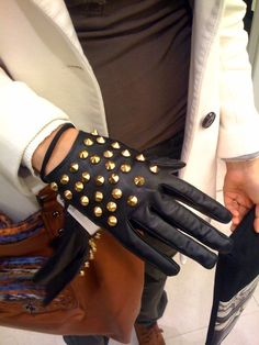 c3b36dee6d7 Trend  studs and spikes. Studs And SpikesBlack Leather ...