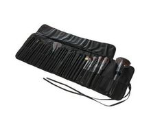 GenLed 32 Pcs Black Rod Makeup Brush Cosmetic Set Kit with Case ** Details can be found by clicking on the image.