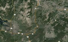 Today's Earthquakes in Yellowstone Nat. Park, Wyoming
