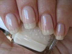 """The colour Kate Middleton wore over top of the pink shade on her wedding day....Essie """"Allure"""""""
