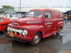 Ford Panel Truck.