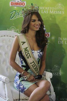 Maira Rodríguez Miss Venezuela Tierra 2014, en la Rueda de Prensa, desde un Reconocido Hotel de la ciudad de Caracas, Ubicado en Altamira.