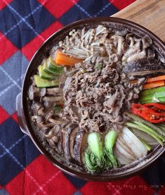쇠고기 소고기 버섯전골 쉽지만 근사하게 : 네이버 블로그