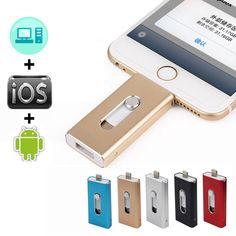 Richwell OTG USB Flash Drive For iPhone X/8/7/7 Plus/6/6s/5/SE ipad Metal Pendrive HD Memory Stick 8G 16G 32G 64G Flash Driver  Price: 22.00 & FREE Shipping  #tech|#electronics|#bluetooth|#computers