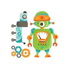 Tatouage temporaire Robot