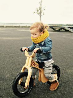 Awesome balance bike. Kids fashion.