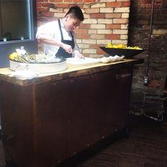 Treeline Catering - Oyster bar
