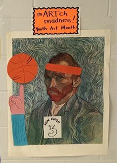 Mrs. Knight's Smartest Artists: mARTch madness, Youth Art Month 2016