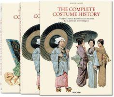 Auguste Racinet. Costume History. Libros TASCHEN (Jumbo)