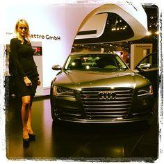 Audi S8 at the LA Auto Show.