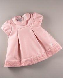 how do i love thee: Baby Dior Baby Girl Frocks, Frocks For Girls, Little Girl Dresses, Girls Dresses, Baby Dior, Toddler Outfits, Kids Outfits, Baby Couture, Mini Vestidos