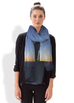 Stunning VIDA scarves by Karen Walrond printed with her original photography