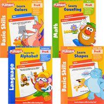 Bulk Playskool Pre-K workbooks at DollarTree.com