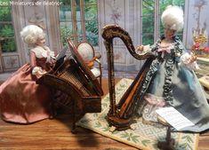Les Miniatures de Béatrice Marie Antoinette, Porcelain, Victorian, Dolls, Miniature Dolls, Baby Dolls, Porcelain Ceramics, Puppet, Doll