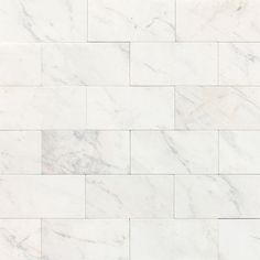 Buy the Daltile Contempo White Direct. Shop for the Daltile Contempo White Marble Contempo White x Honed Stone Multi-Surface Tile and save. Honed Marble, Marble Wall, Marble Floor, Marble Mosaic, White Marble, Wall Tiles, Calacatta, 3d Texture, Tiles Texture