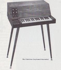 Scott-Clavivox ~ keyboard theremin
