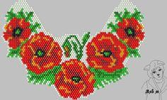 Авторские схемы Мяв М Beaded Flowers Patterns, Seed Bead Patterns, Peyote Patterns, Beading Patterns, Beaded Cross Stitch, Cross Stitch Rose, Cross Stitch Flowers, Crochet Bedspread Pattern, Seed Bead Flowers