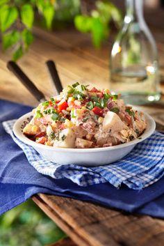 Fajitamaustettu perunasalaatti | K-ruoka #kasvisruoka #kasvisresepti