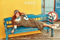 Park Shin-hye // Vogue Korea