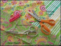 Getting Started- Sewing Tools Checklist - Once Upon a Sewing Machine