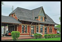 The Winona, Minnesota train station, built by the Milwaukee Road in 1888, is now used by Amtrak. www.visitwinona.com
