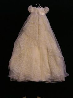 Caitlin's Custom Christening or Baptism Gown by BertasBoutique, $175.00