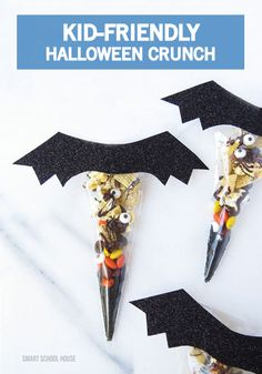 Looking for a quick and easy Halloween treat you and your kids could make together this October? This festive Halloween Crunch recipe is both sweet and scary! Click to find the step-by-step instructions to make this easy DIY project.