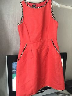 c60d5211e7 Love the bright colour with just a touch of leopard print. Sadly missed out  on
