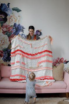Tassel Blanket DIY / Ikea Hack — Treasures & Travels