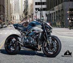 Triumph Motorcycles, Cars And Motorcycles, Triumph Speed Triple 1050, Moto Ducati, Biker Boys, Automotive Photography, Super Bikes, Motorcycle Bike, Street Bikes