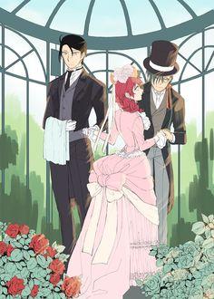 Akatsuki no Yona anime and manga fanart by @CBbackup on twitter // Yona, Jaeha, and Hak