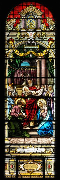 Presentation de Jésus au Temple | Notre Dame de Grace Catholic Church, Montreal.