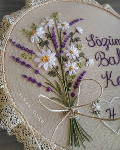 Red thread – embroidery and needlework - Stickerei Ideen Crewel Embroidery Kits, Hand Embroidery Videos, Embroidery Flowers Pattern, Silk Ribbon Embroidery, Hand Embroidery Designs, Cross Stitch Embroidery, Embroidery Ideas, Embroidery Thread, Embroidery Supplies