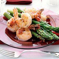 Shrimp & Asparagus Salad