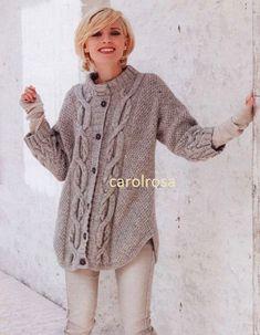Dishcloth Knitting Patterns, Sweater Knitting Patterns, Knit Cardigan Pattern, Wool Shop, Vintage Knitting, Free Knitting, Girl With Hat, Vintage Ladies, Women
