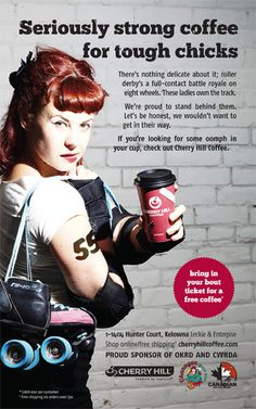Seriously Strong Coffee for Tough Chicks (Cherry Hill Coffee x OKRD)