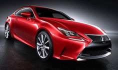 Upcoming Lexus RC 350 in Striking New Red Paint Color
