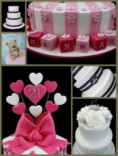 Tutorials By: Michelle Rea http://www.inspired-by-chocolate-and-cakes.com/cake-decorating-tips.html
