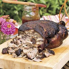 Injecting a Boston butt with marinade, coating it with rub, and slow-cooking on the grill will give you the juiciest pulled pork butt you& ever tasted. Pulled Pork Recipes, Barbecue Recipes, Grill Recipes, Dinner Recipes, Meat Recipes, Recipies, Fish Recipes, Cooker Recipes, Salad Recipes