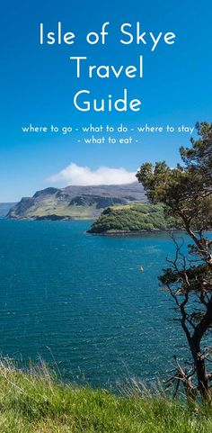 Isle of Skye Travel Guide. If you're planning to go to the Scottish Highlands you'll want to read this! An insiders guid all the best places to eat, see and stay in this beautiful part of Scotland. ➜➜➜ Click through for more photos and info!!